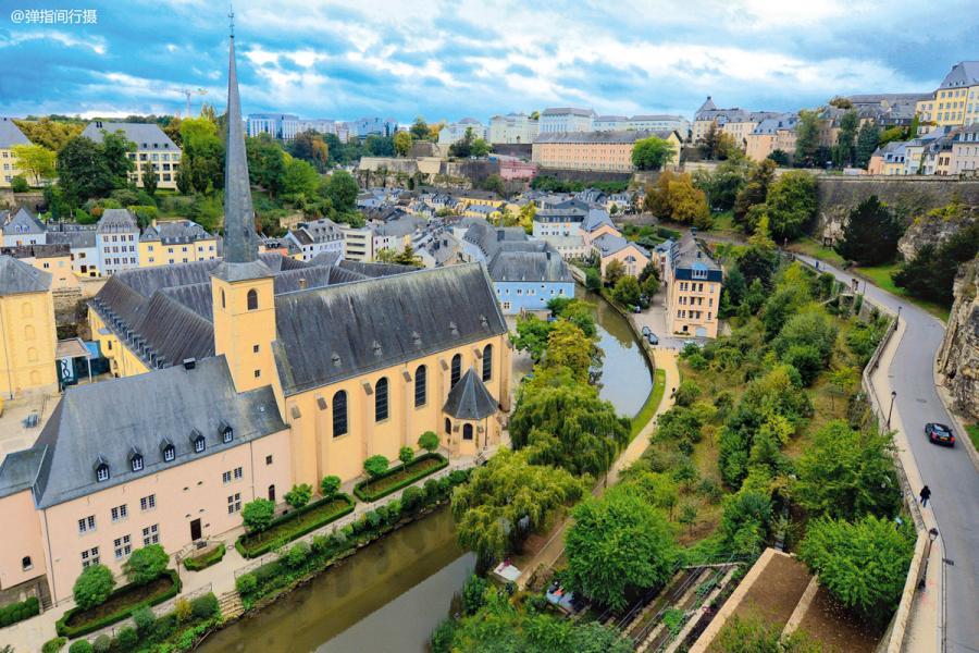 世界四大公國之一的盧森堡國富民強。