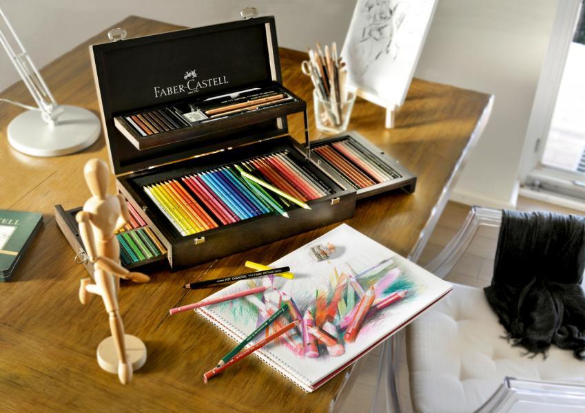 Faber Castell創於1761年是最著名的木製鉛筆與彩色鉛筆製造商。