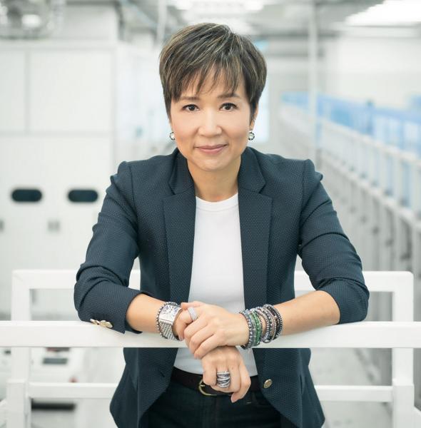 龍達紡織有限公司主席曹惠婷。