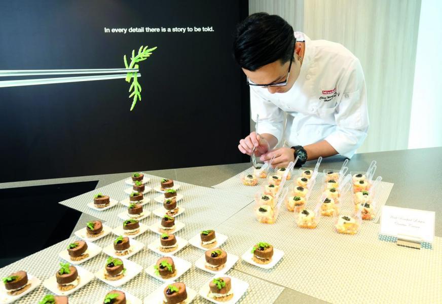 Miele邀得陳永權師傅擔任公司總廚。