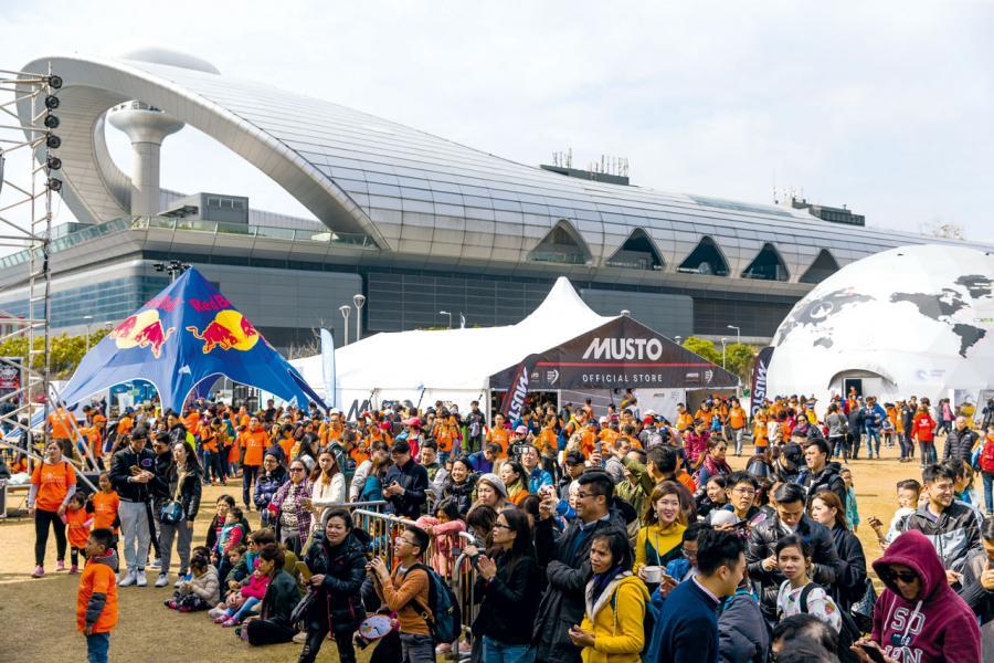 香港首次主辦賽事分站,在比賽期間於啟德跑道公園舉辦嘉年華,讓來賓感受熾熱氣氛。