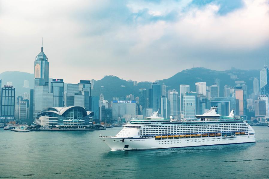 皇家加勒比郵輪公司已於兩年多前進駐香港,以香港為母港。