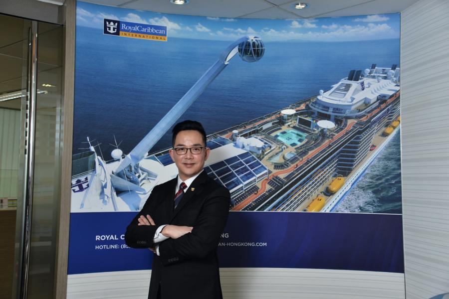 皇家加勒比華南及香港區銷售及市場總監楊博雄。