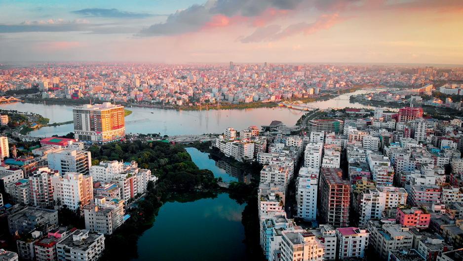 孟加拉首都達卡是該國政治及經濟中心。