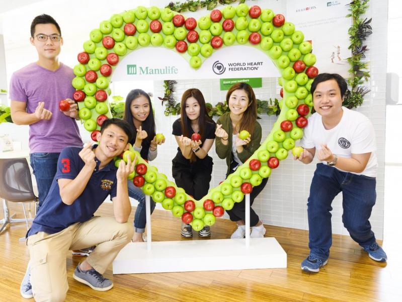 宏利會於「世界高血壓日」於香港三個辦事處舉辦推廣身心健康的活動。