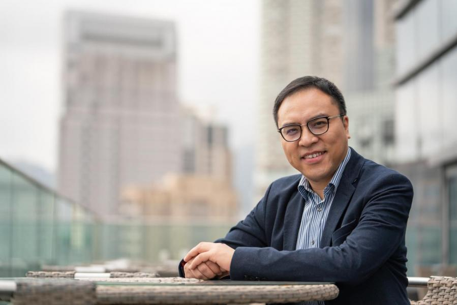 昂坪360董事總經理劉偉明