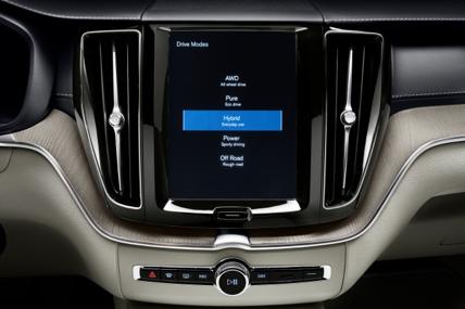 五種駕駛模式選擇