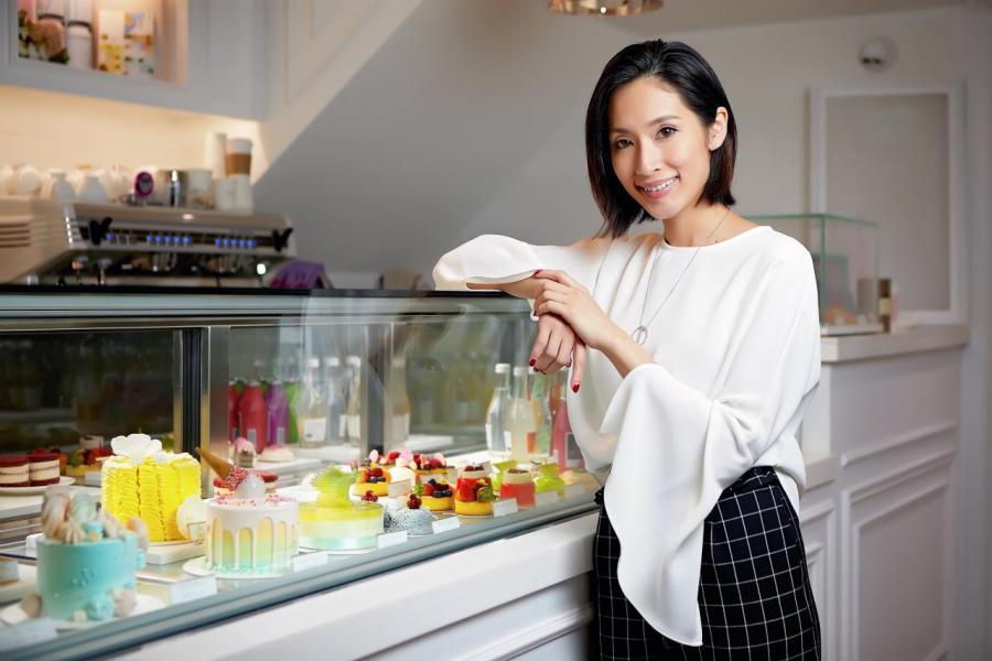Vive Cake Boutique 創辦人兼蛋糕設計師Vivien Lau。