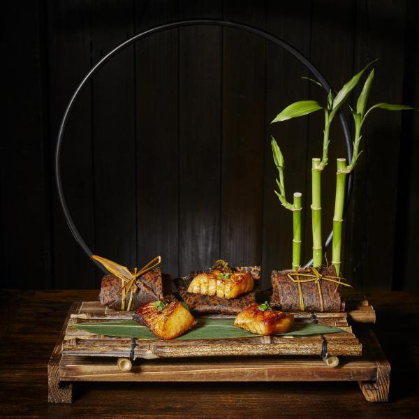北方中菜食府「胡同」今夏特別以「詠竹」為題,推出主題菜單。
