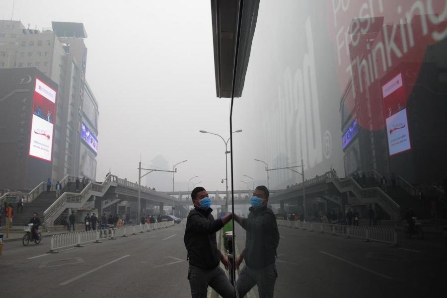 內地霧霾天氣嚴重,對國民健康構成威脅。