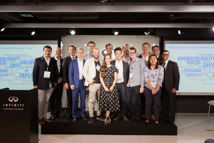 七間來自世界各地的初創企業參與 INFINITI LAB Hong Kong 3.0 創業加速計劃