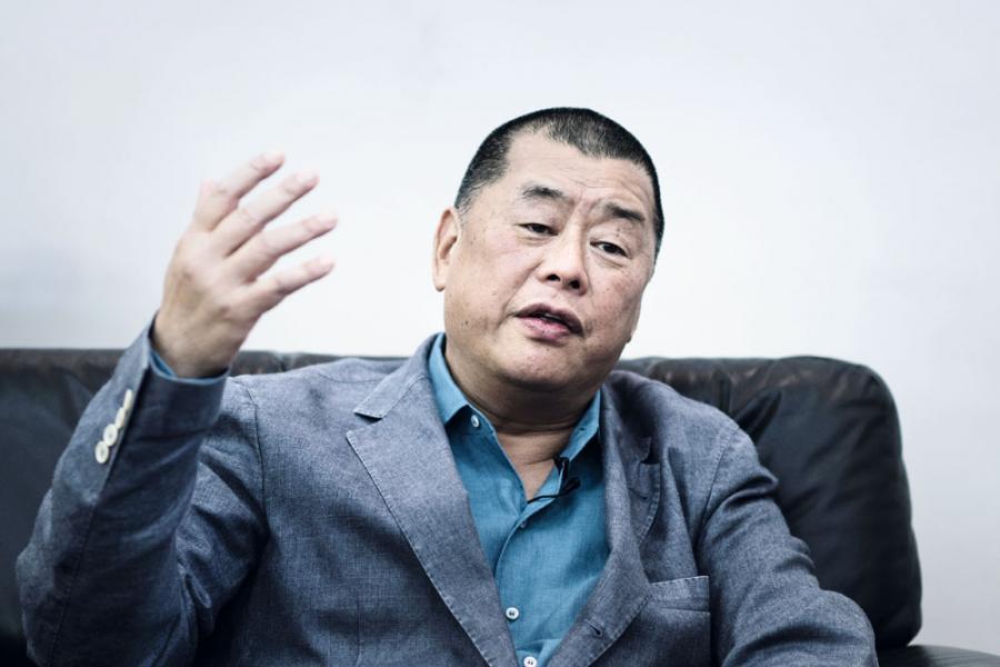 壹傳媒創辦人黎智英對出售《壹週刊》表示「很傷感」。