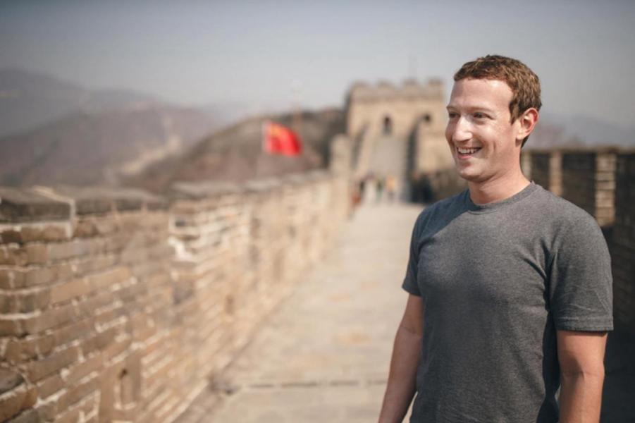 朱克伯格一直積極向中國政府示好,希望藉此打開大門。