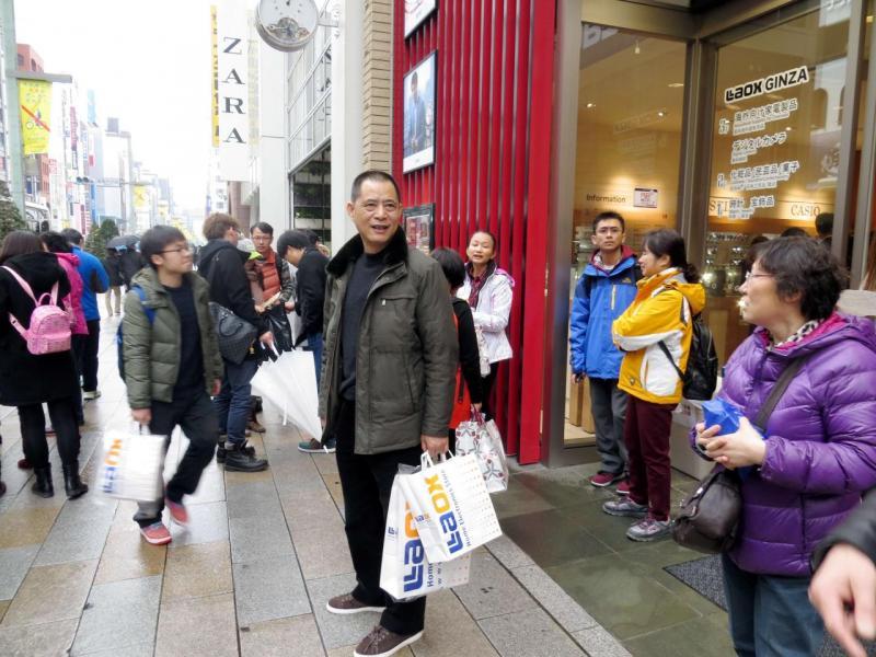 估計到二○二一年,中國旅客的消費將增至四千二百九十億美元。