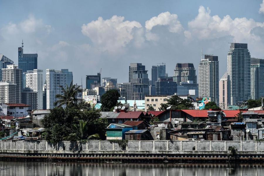 馬卡蒂(Makati)是菲律賓傳統的金融中心。