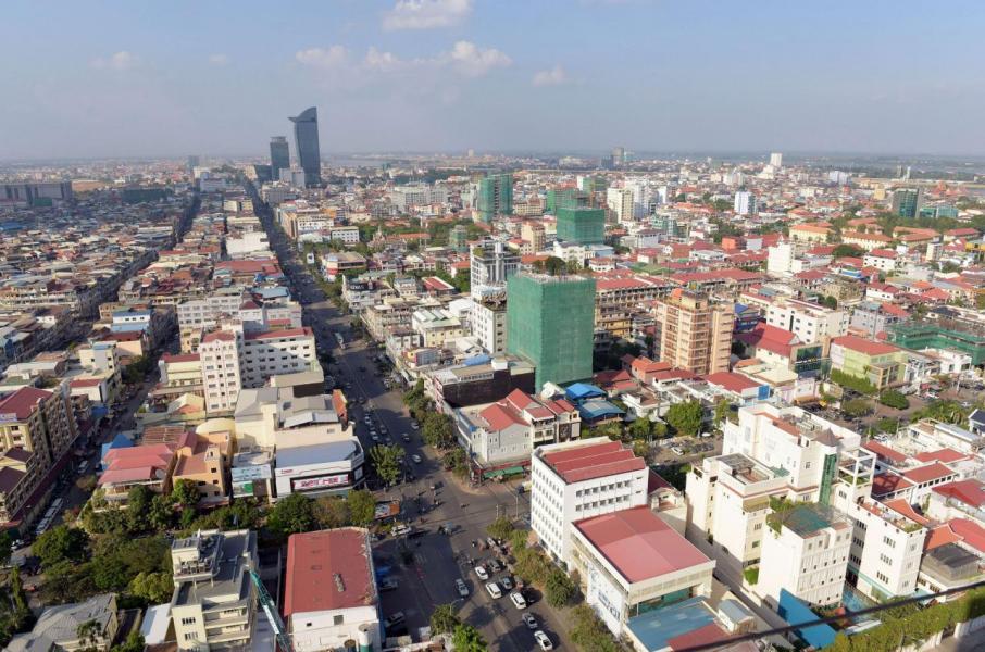 柬埔寨近幾年的GDP成長率皆維持在7%左右,為全球經濟發展速度最快的國家之一。