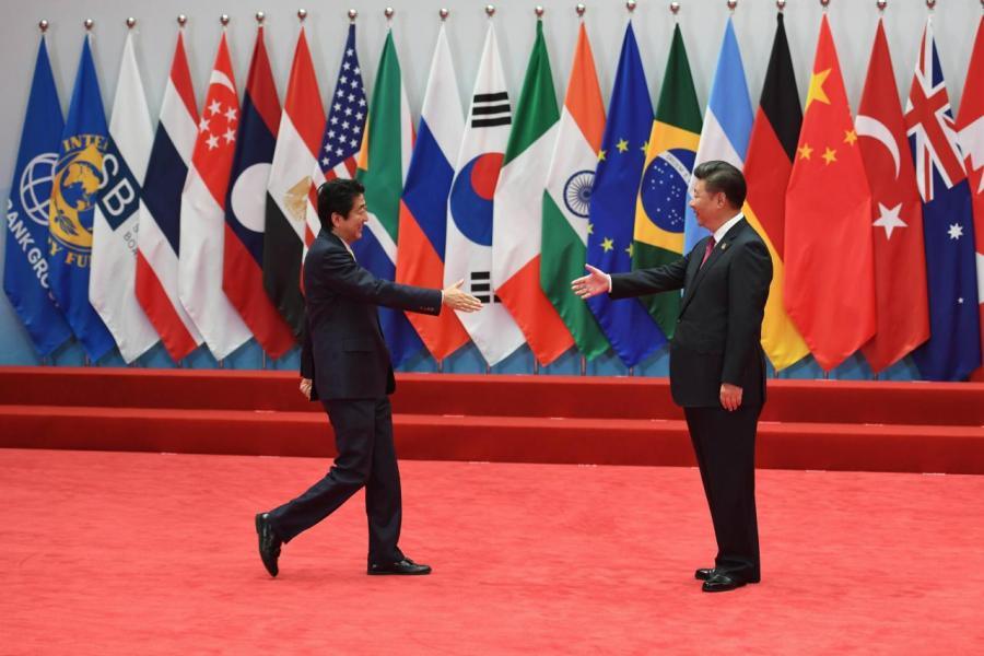 中美關係轉差,反而令中日拉近距離。