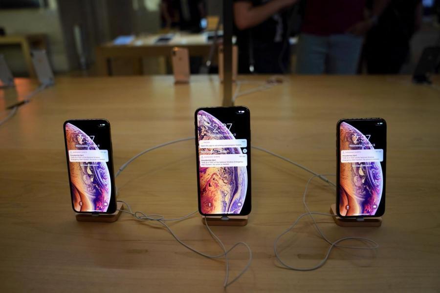 蘋果在內地的銷售額繼續下跌。