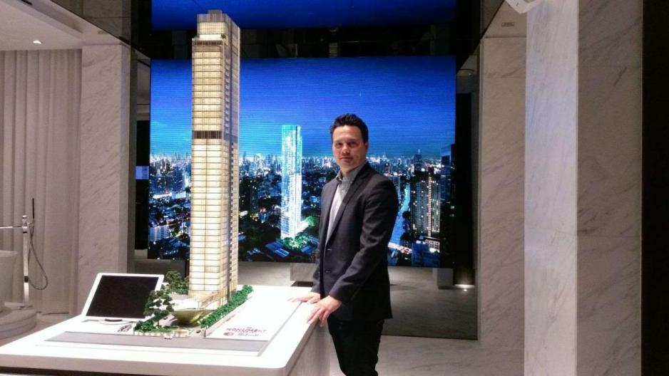 Sansiri國際業務主管 Cobby Leathers指曼谷的海外投資者中,香港及中國佔最大的比例。