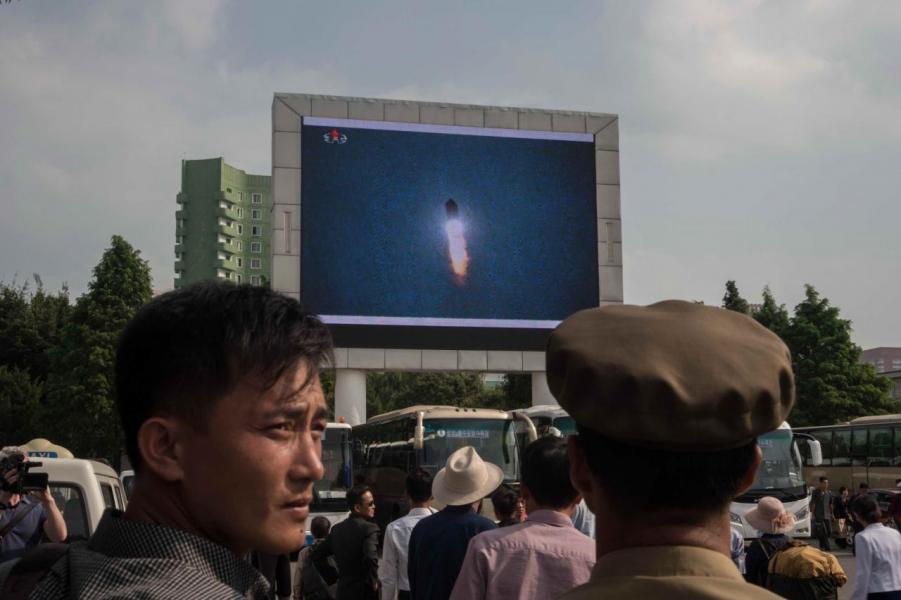 北韓上週再進行核試,威力屬歷來最強。