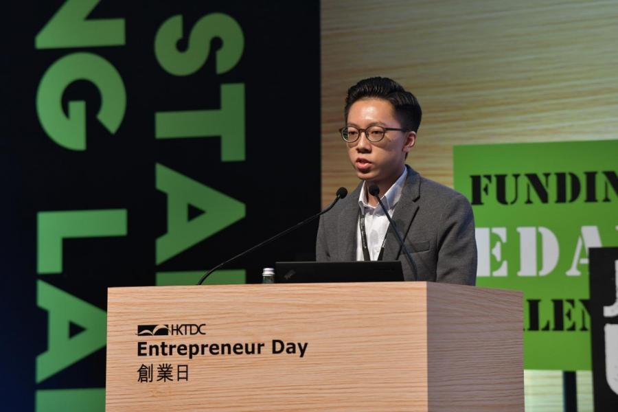 Pedosa Group創辦人兼行政總裁馮旨瑨成了全場焦點,事關年僅16歲的他已有豐富的創業經驗。