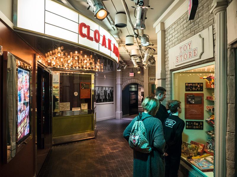 舊國際間諜博物館設有不同的展區,搬到新館後會更臻完備。