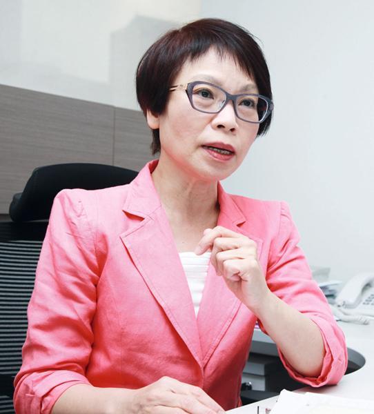 熊麗萍認為,以業務表現評估,維他奶表現較佳。