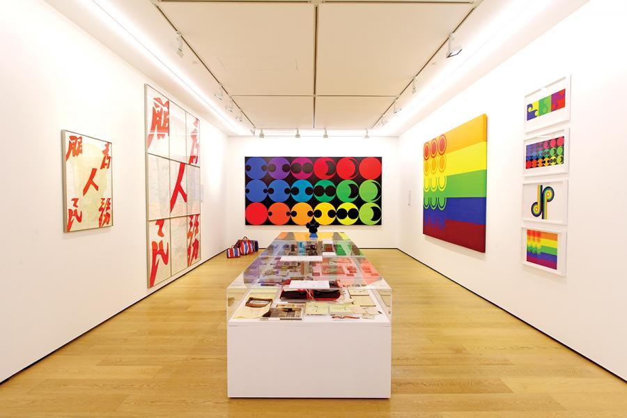 於今年的一至二月底,陳幼堅在白石畫廊香港舉辦《誰是陳幼堅?自1960 年代的藝術旅程 》, 此乃其一角的作品與私人珍品展館。