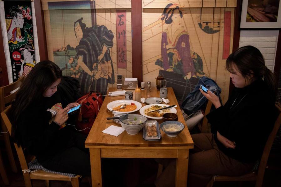 外賣已成為內地餐飲的主要支柱。