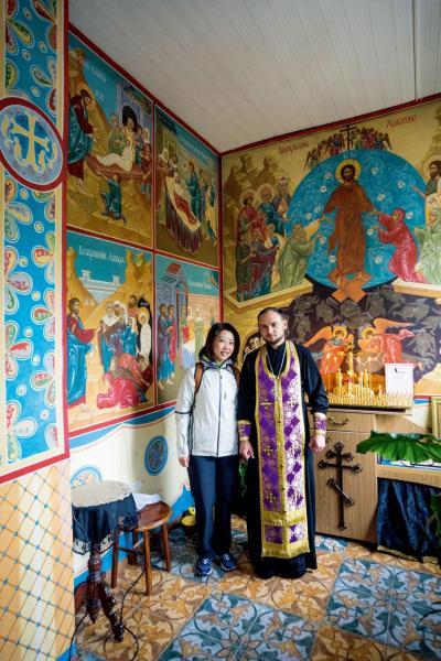 Clara熱愛旅遊,曾參加YIC所舉辦的「一帶一路」考察團,到哈薩克感受異國風情。