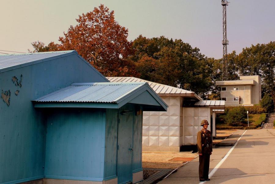特朗普成為首位踏入北韓領域的在任美國總統。