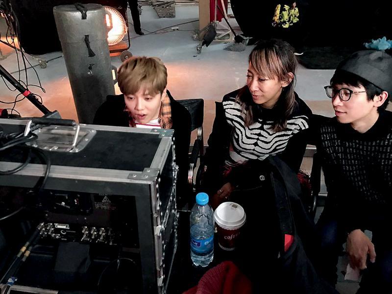 2016年,Keith與導演蜷川實花拍攝國內藝人鹿晗的MV。