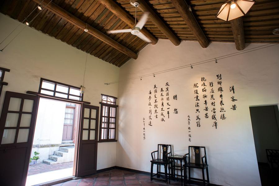 不少的建築保留得完好,可看到閩南式建築。