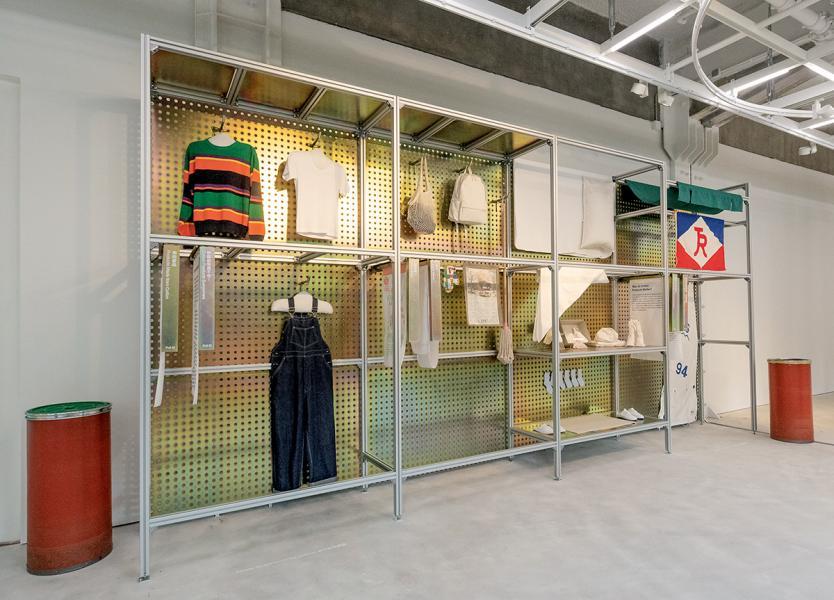 CHAT六廠以「紡織」為主軸,在過去的展覽中,曾見有不少紡織用品。