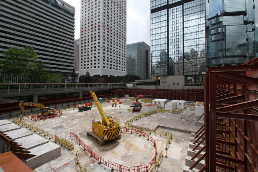 香港甲級商廈供應已買少見少。