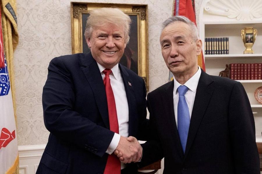 特朗普與劉鶴會面,但市場不敢抱太大期望。