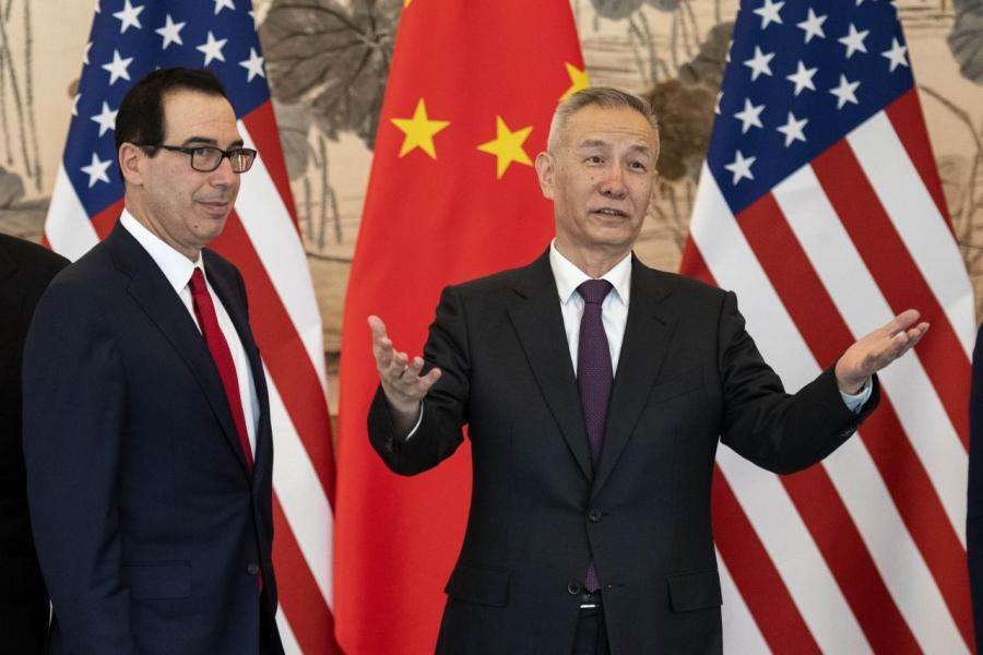 劉鶴如期到美國進行第十一輪談判。