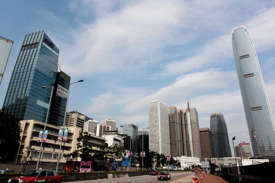 中資企排隊租用港寫字樓,商廈前景可謂不憂。
