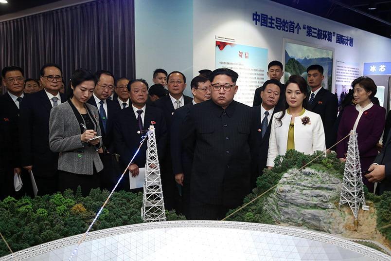 兩位領袖會談中,金正恩主動談到會致力朝鮮半島無核化。