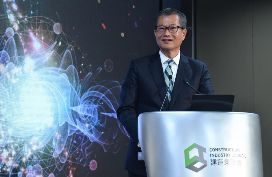 陳茂波稱,有考慮放寬按揭保險成數,但直言不想市場理解成減辣措施。