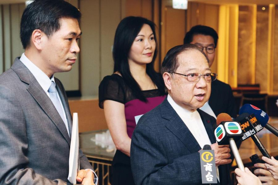 梁志堅表示,望政府實施空置稅前考慮清楚。