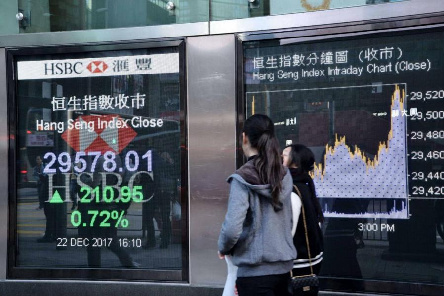 今年港股表現標青,年內累升逾三成四。