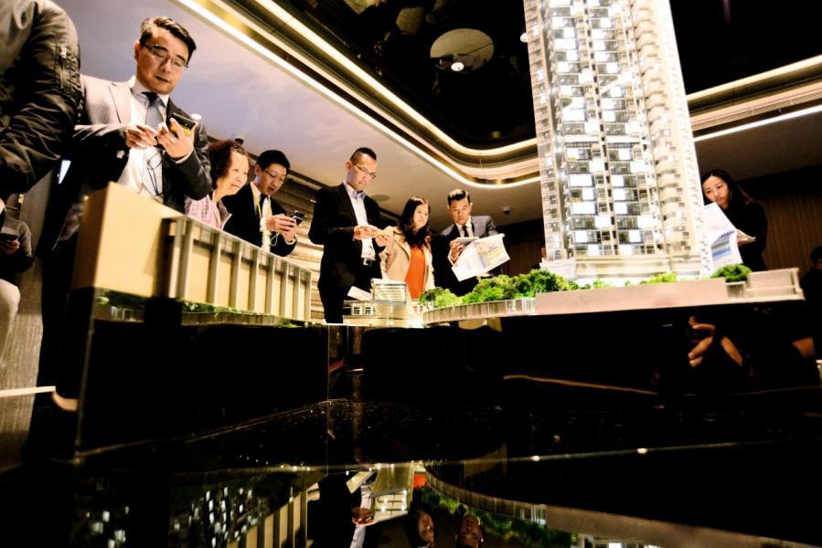將軍澳日出康城第5期MALIBU今年的銷售額破百億元。