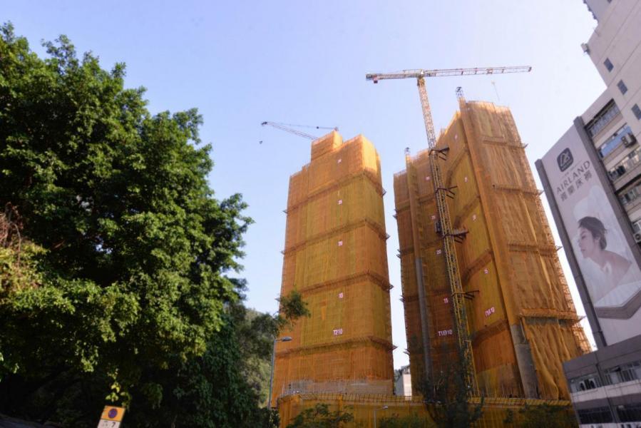 海傲灣戶型涵蓋開放式至2房戶,實用面積由179至593方呎。