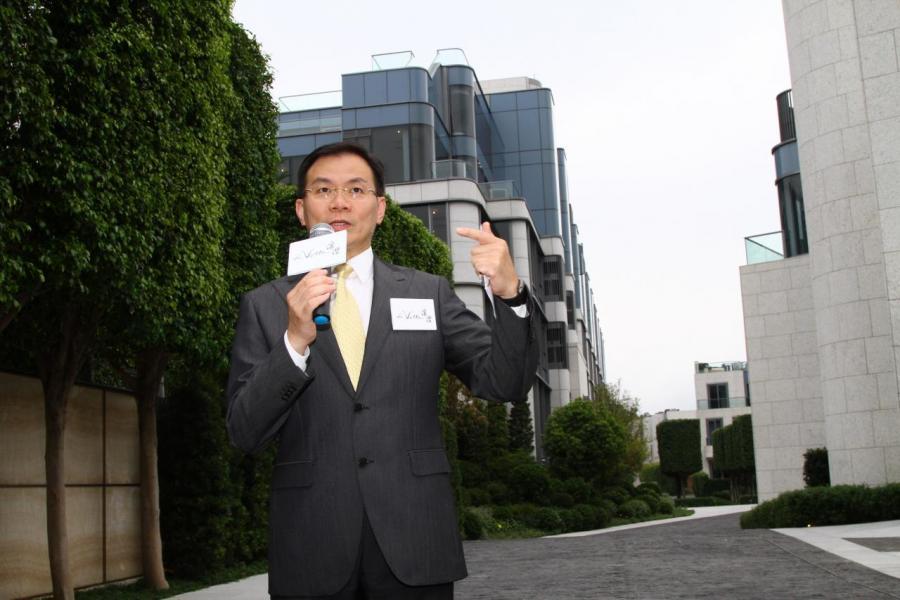 永泰地產發展執行董事兼銷售及市務總監鍾志霖稱,澐灃會以招標形式推出。