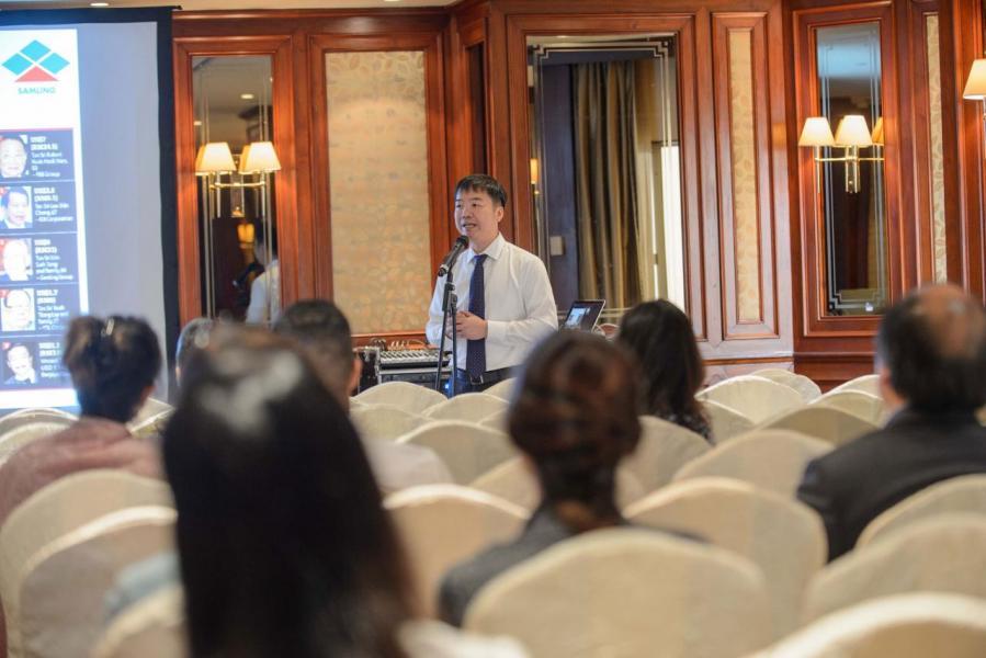 賴遠方指出香港人觸角敏銳,不少投資者到嗅到越南樓市的發展前景並投資。