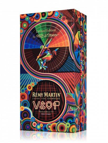 由著名藝術家Matt W. Moore親自操刀設計的人頭馬V.S.O.P Matt W. Moore限量版。