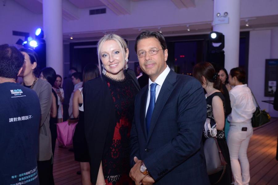 (左)Olga Roh與Stephan Roh