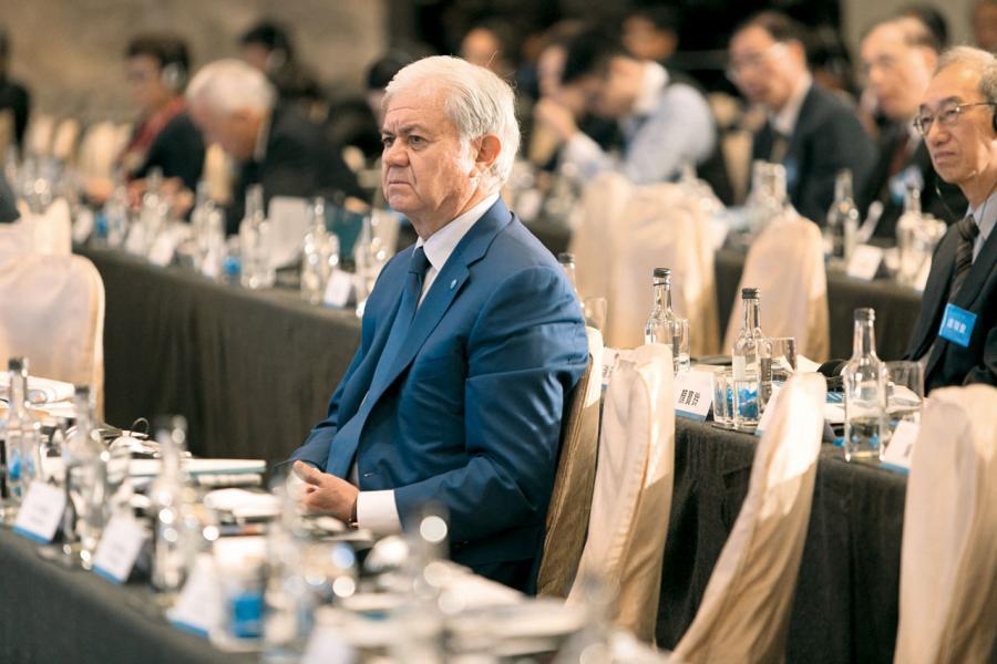 上海合作組織秘書長阿利莫夫(Rashid Alimov)。