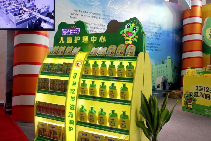 在眾多兒童股分中,中國兒童護理可以說是一枝獨秀地落後。